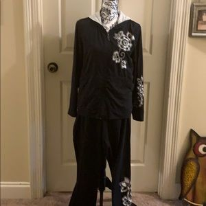 A soma lounge set with hooded jacket and pants